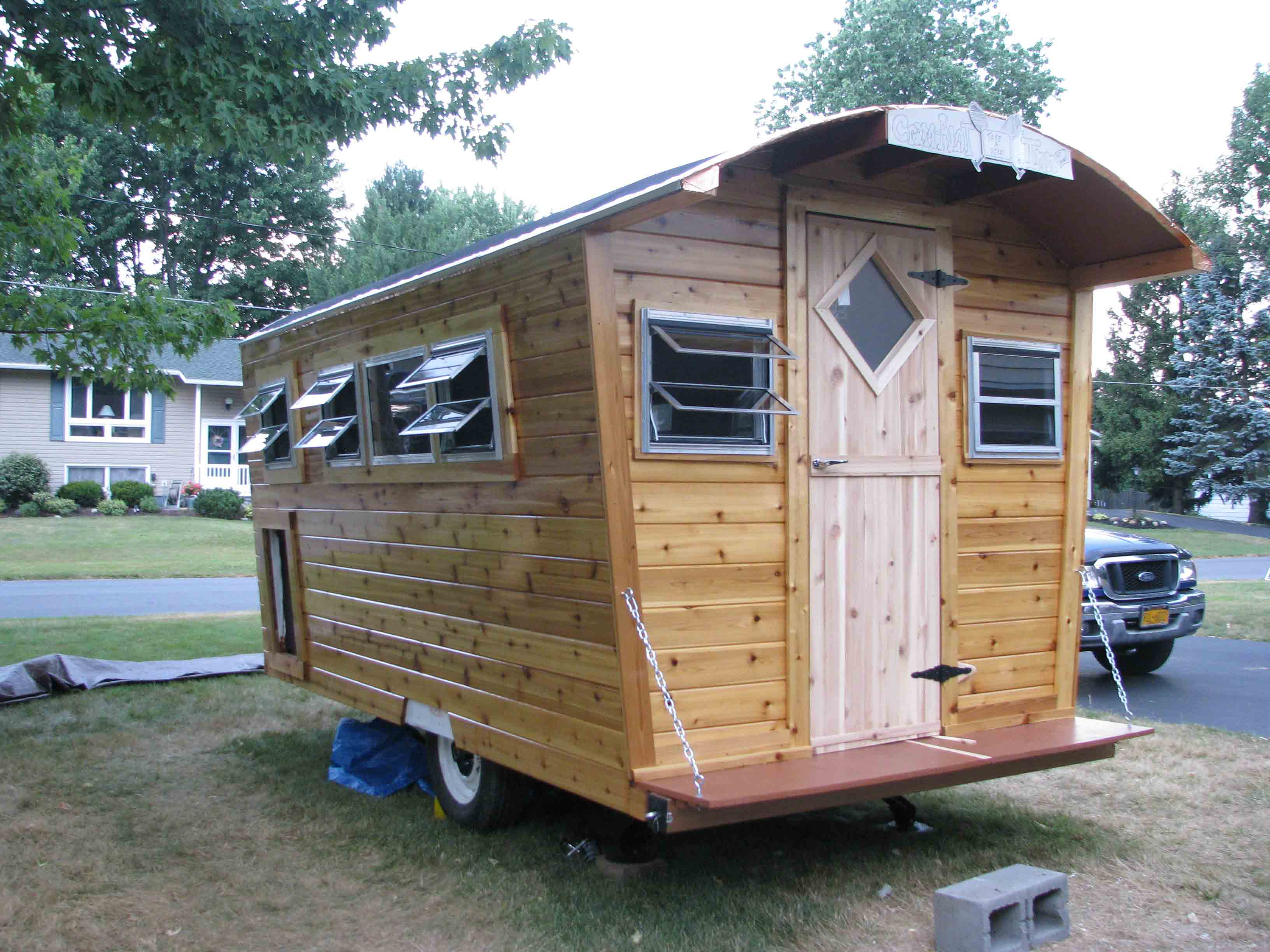 Build your own gypsy wagon joy studio design gallery for Build your own building